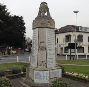 Datchet's WWI memorial