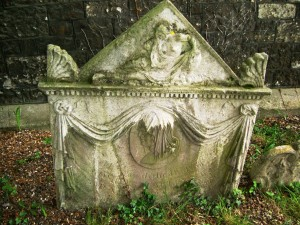 A beautiful and unusual headstone