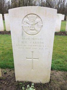 H R Carrod
