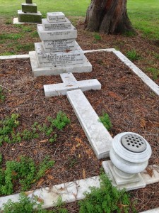 James McGrigor's family grave