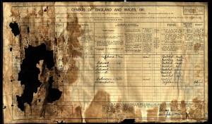 The damaged 1911 census