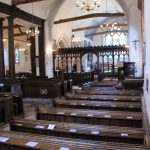 The Chancel Screen contains some 15th-century woodwork. Until the 19th century, the Royal Coat of Arms was mounted here