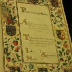 Lady Kedermister's book of medicines is the only hand-written book in the library