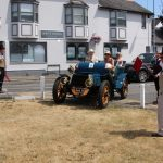 Lord Montagu parked his 1903 Daimler on the village green