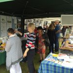 The DVS stand was very busy throughout the day