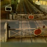 1970s, level crossing gates