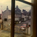 1970s, view from the signal box window