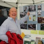 David Smith was amused to see a photograph of himself with Prince Philip, taken when the scout hut was opened in 1992