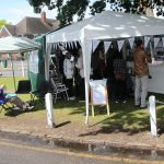 We attracted a good many visitors with a display on Datchet's Royal Connnections