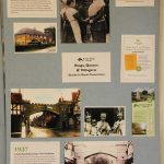 The display included photos of Queen Mary in Ditton Road and of the temporary arch built in the High Street for King George VI's coronation