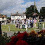 The village greens offer a great vantage point to understand how the village has developed