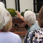 Janet explained how the Manor House range had changed over the centuries