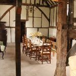 The history of the 'Hall House' can be traced back to the 1590s although parts of an older house remain at its core.