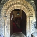 One of its finest features is an elaborate Norman arch
