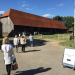 The 15th-century Great Barn, now owned by English Heritage, is 192ft long, 37ft wide and 39 feet high.