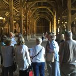 It is the largest surviving medieval timber barn in the country. The majority of the timber is original, from 1426