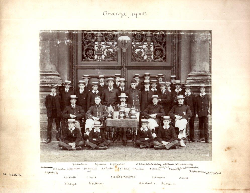Stanley, 1905, courtesy of Wellington College Archives