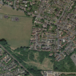 The Willowfields and Land at Mill Place are to the south-east of the Recreation Ground