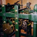 Original 1821 clock mechanism, moved to the new tower 1860 and still working