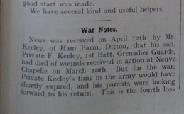 Keeley May 1915