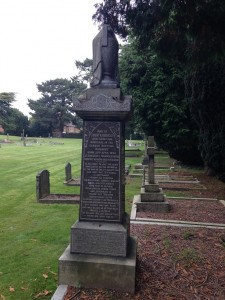 The Kinross family grave