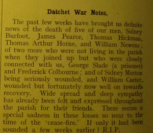 Datchet Parish Magazine