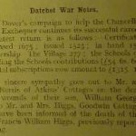 Datchet Parish Magazine August 1918