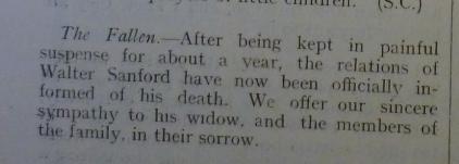 Datchet Parish Magazine April 1918