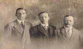 Eric, Claude and Bertie