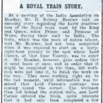 Royal Train Story