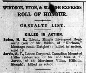 Soden WEE 3 June 1916