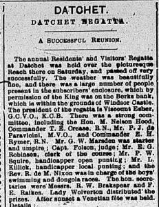 SEW Obs 24 July 1909