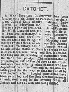 Observer, 28 August 1914