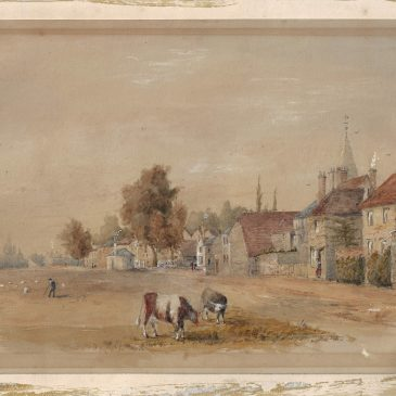 AGM – new (old) paintings of Datchet