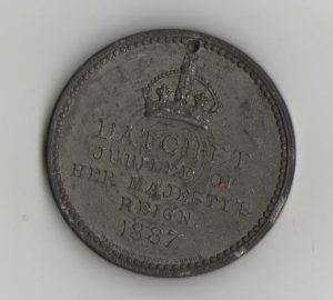 Queen Victoria's Jubilee medal front