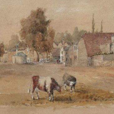 New (old) paintings of Datchet