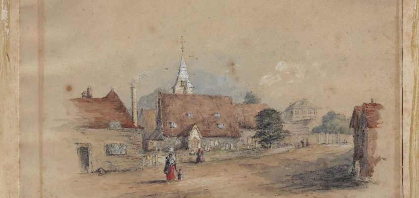 Village Fete: The earliest paintings of Datchet