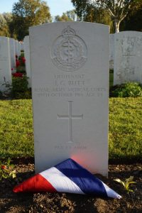 On Friday 2nd, we had news to report about one of the soldiers on the memorial, Lieut J G Butt, whose grave had been found