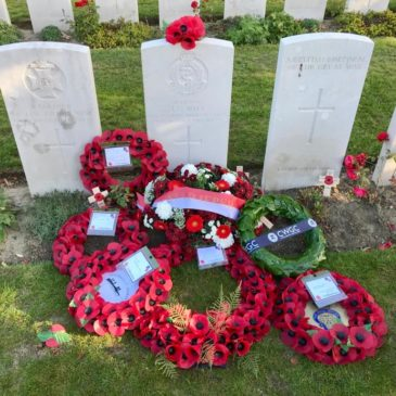 WWI soldier's grave found