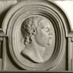 Portrait bust of Thomas Carter, Mary Earley's father, died 1726