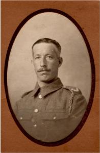 Photograph of James Albert Lewin sent to his mother, Jane