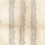 War Roll Page 1