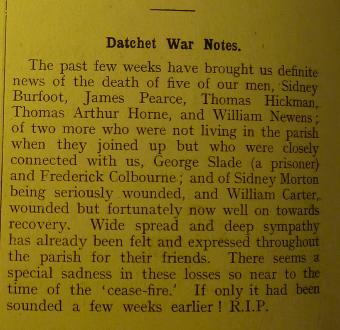DPM December 1918