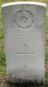 Boxall grave
