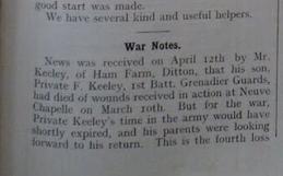 Keeley May 1915