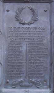 Groves - Eton Memorial
