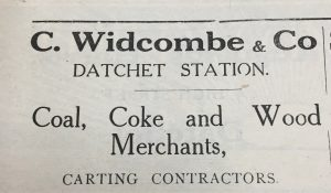 Widcombe coal merchants 1920s sm