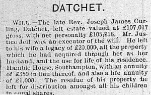 Observer 6 Jan 1907