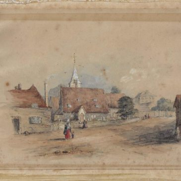 Old maps, paintings and photographs of Datchet