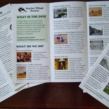 New DVS information leaflet